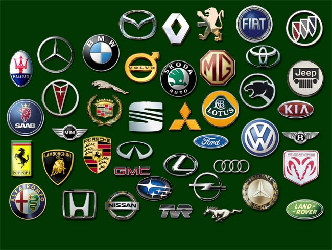 Foreign Sports Car Logos
