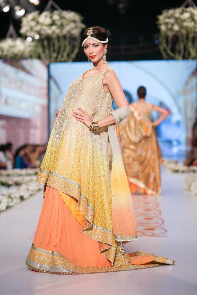 Fashion: Deepak Perwani Bridal Collection at Pantene Bridal Couture ...
