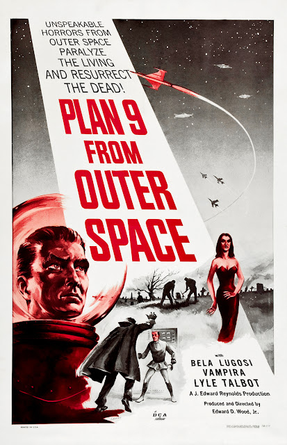 Where danger lives 50 greatest classic sci fi poster for Outer space planning and design group