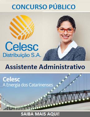 Apostila Celesc Distribuição (SC) Assistente Administrativo