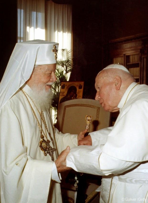 Teoctist si Papa