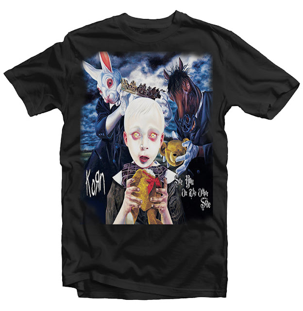 korn tshirt design