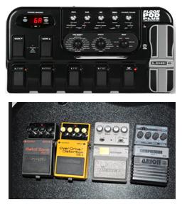 Tips cara memilih efek gitar dalam belajar gitar elektrik