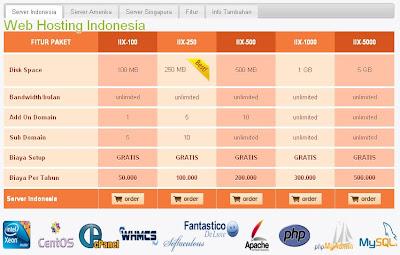 jasa penyedia web hosting murah indonesia