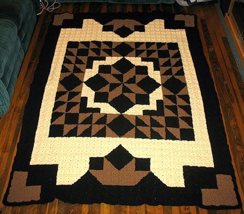 Casablanca Crochet Quilt - Free Pattern