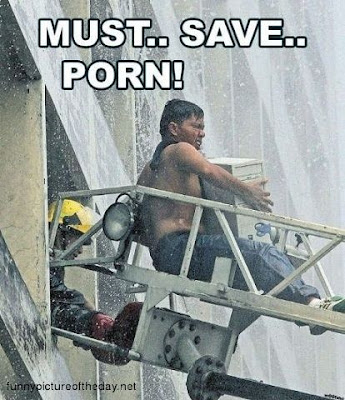 Must Save Porn Funny Guy Fire Truck Ladder