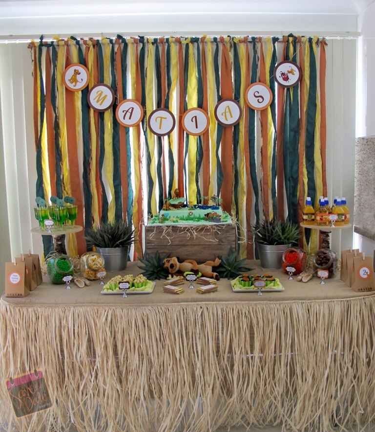 Little Big Company The Blog Lion King Themed Party