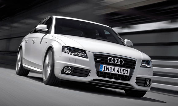 All About Cars Audi A White - All white audi