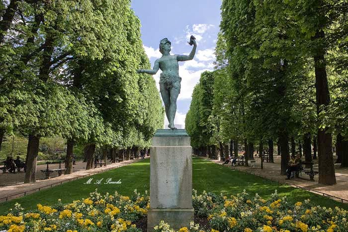 Jardin du Luxembourg, París