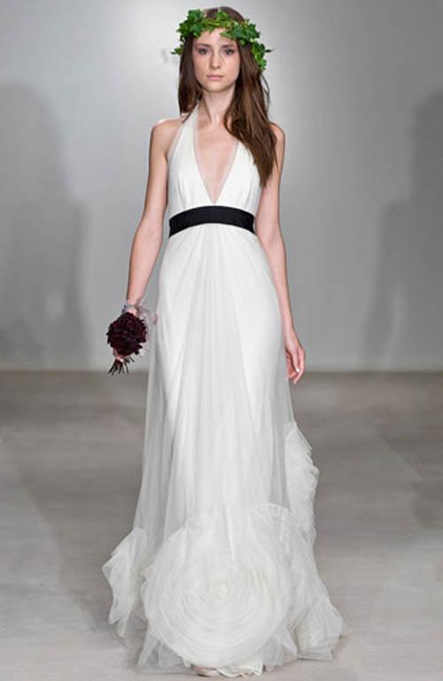 Fashion style wedding dresses vera wang for Vera wang style wedding dress