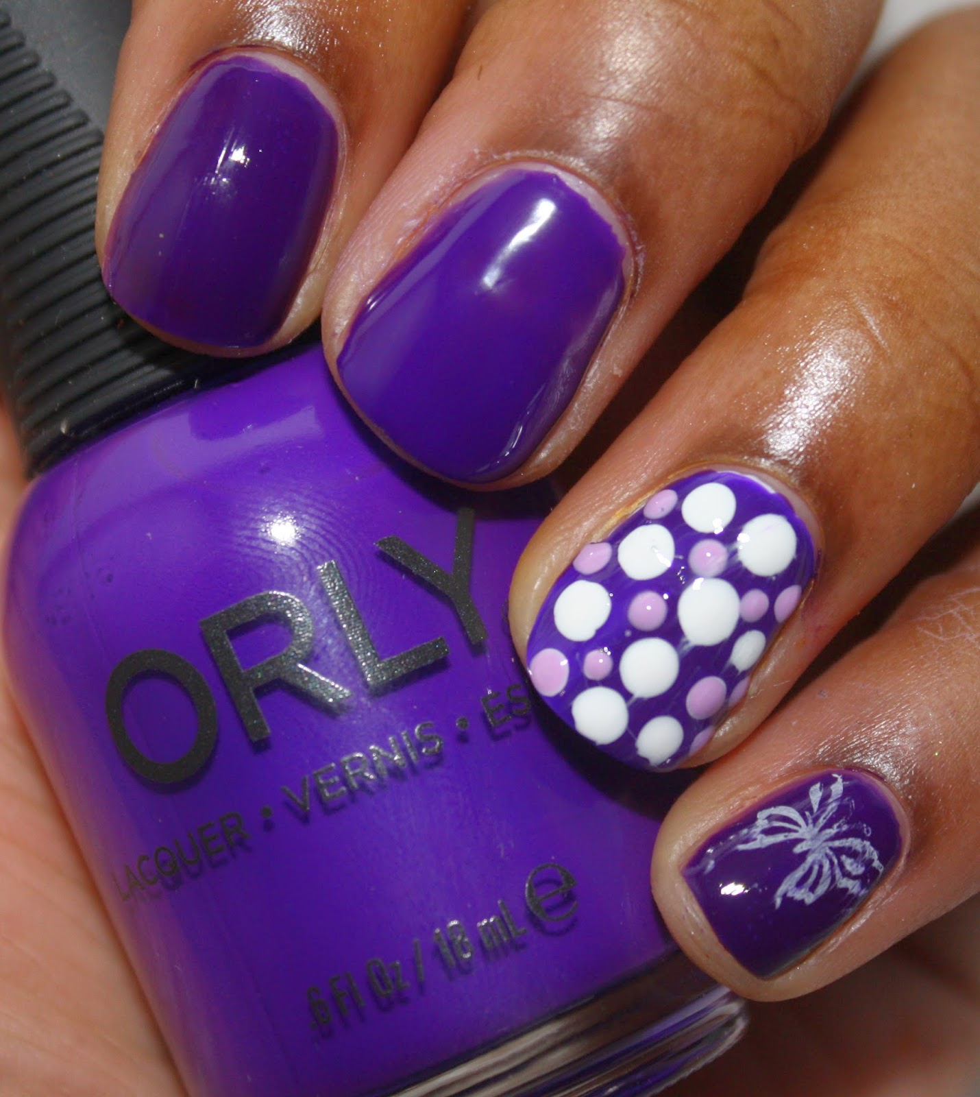 Nailmattic: Lupus Awareness Nails