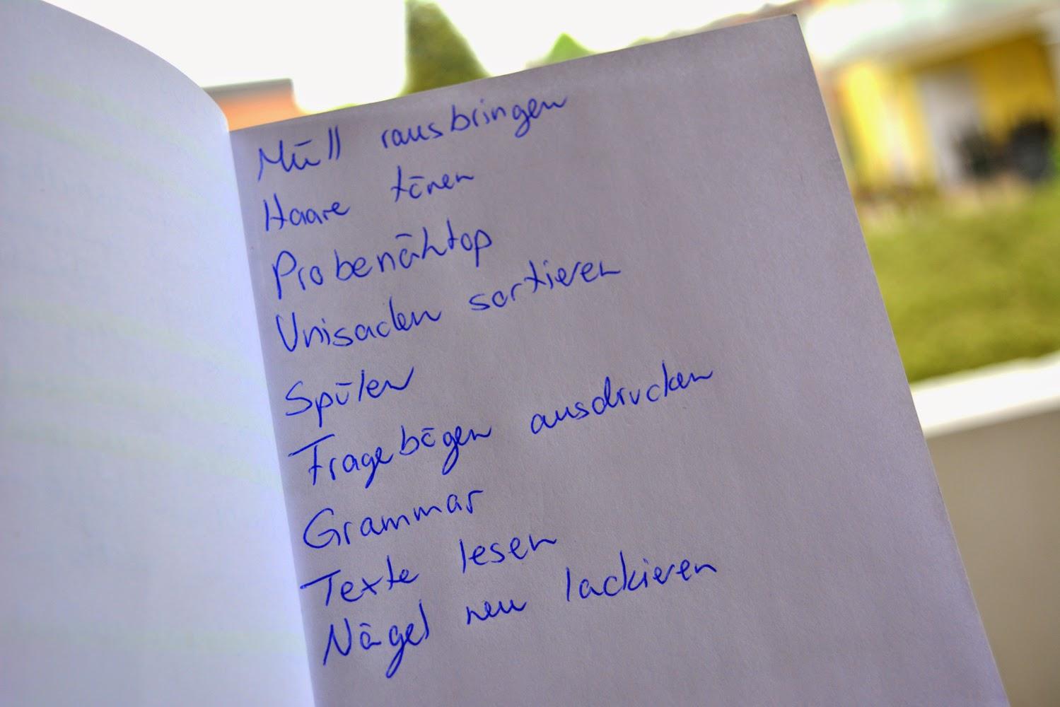 7 Sachen Sonntags - No Alarm Sunday