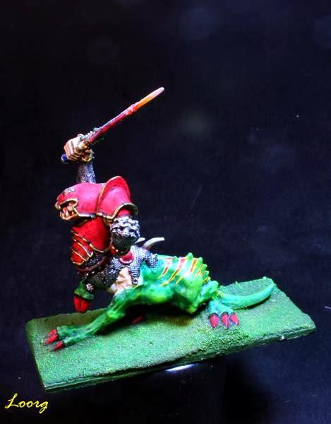 Vista izquierda del Campeón de los Ogro Dragón