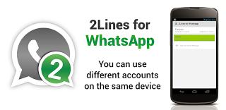 Cara Menggunakan/Mengaktifkan Dua Akun WhatsApp di Perangkat Android Duos