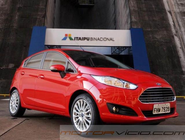 carro New Fiesta Hatch 2014 Automático