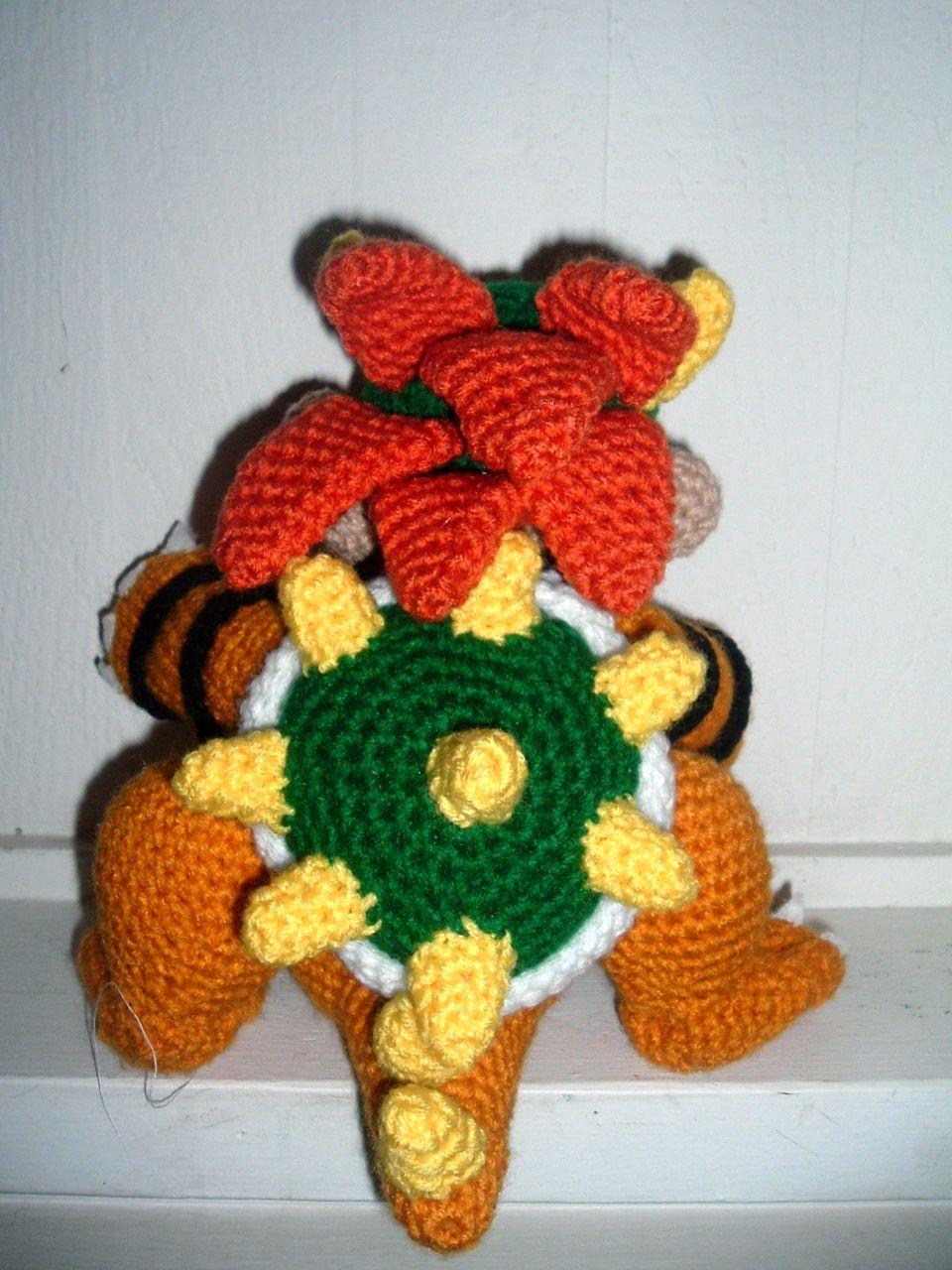 Nanette Crochet: Super Mario Bowser