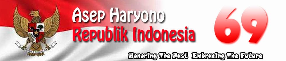 Asep Haryono - Official Blog- INDONESIA