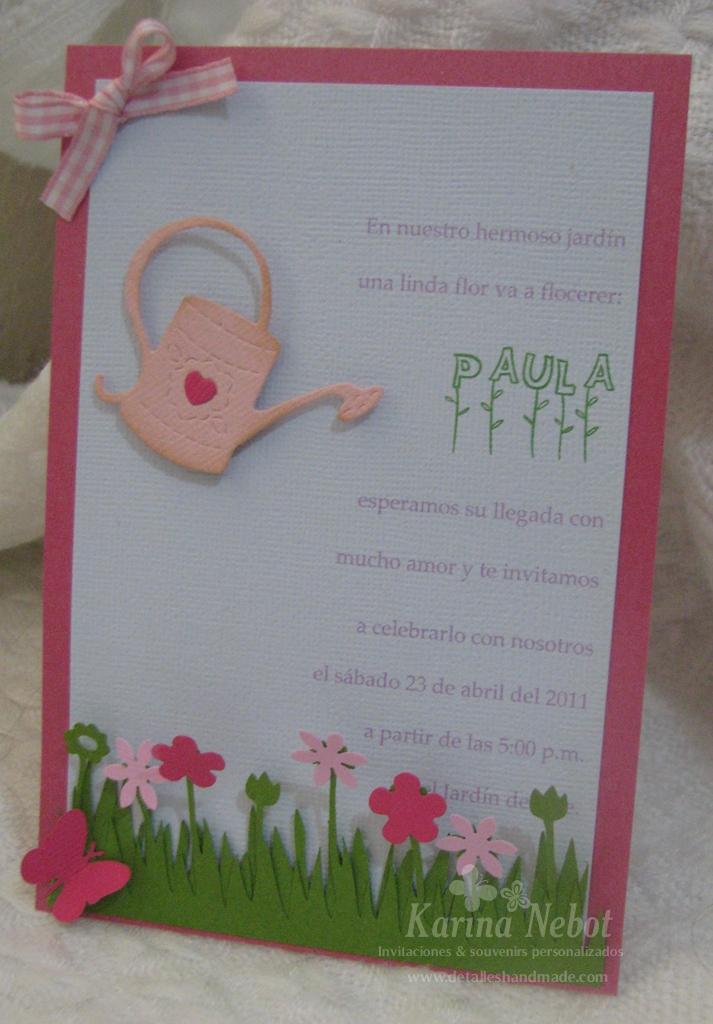 Karina nebot baby shower en un hermoso jard n for El jardin acordes