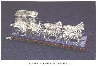 Souvenir Perak Kota Gede Yogyakarta