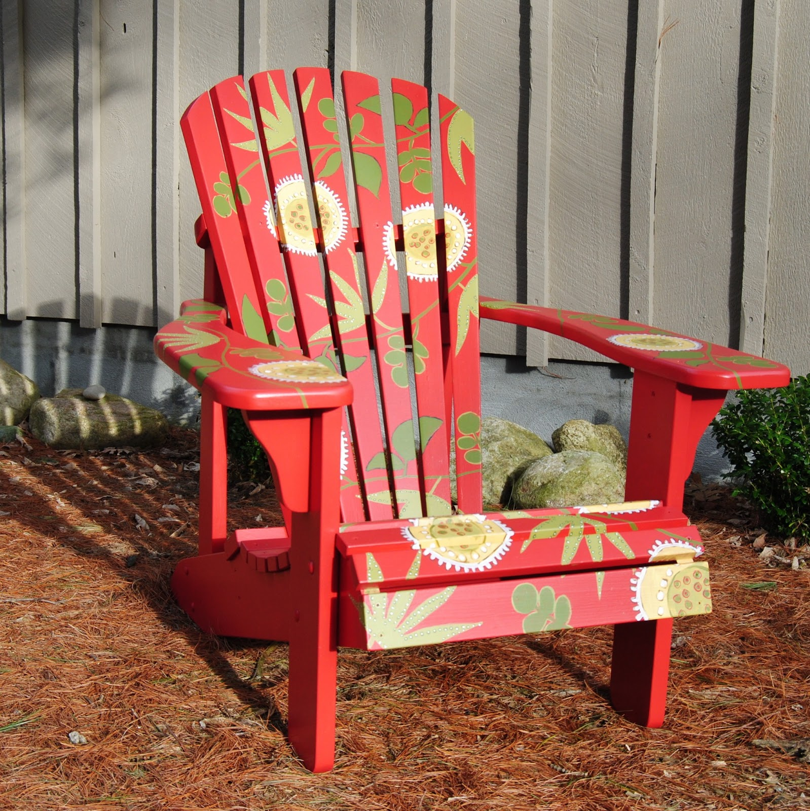 Designed And Painted By Corinne Hodgson