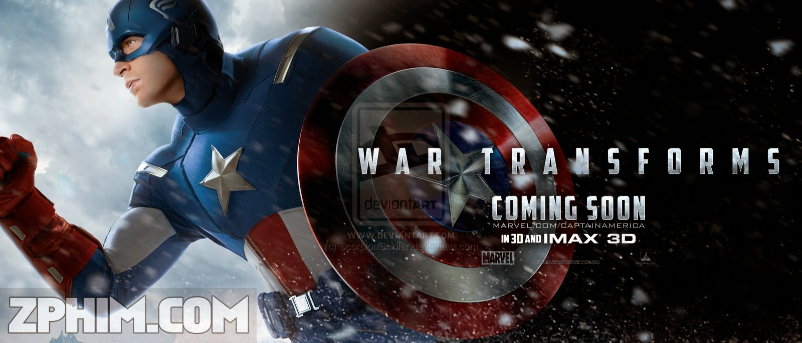 Ảnh trong phim Captain America 2: Chiến Binh Mùa Đông - Captain America 2: The Winter Soldier 1