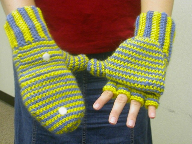 Sues Free Patterns: CROCHETED MITTENS / FINGERLESS GLOVES ...