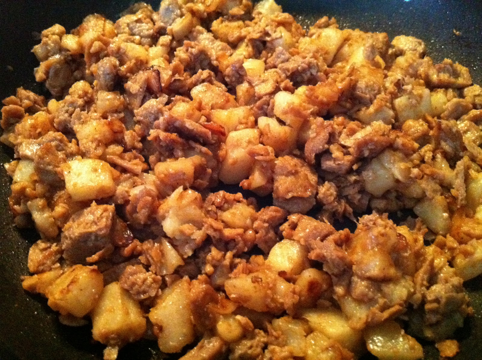 "Lala Eats!: Vegetarian ""Corned Beef Hash"""