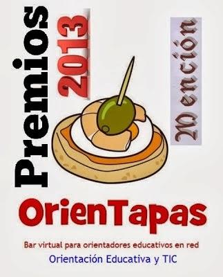 PREMIOS ORIENTAPAS 2013. MENCIÓN DEL PÚBLICO