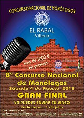 Bases 8º Concurso Monólogos