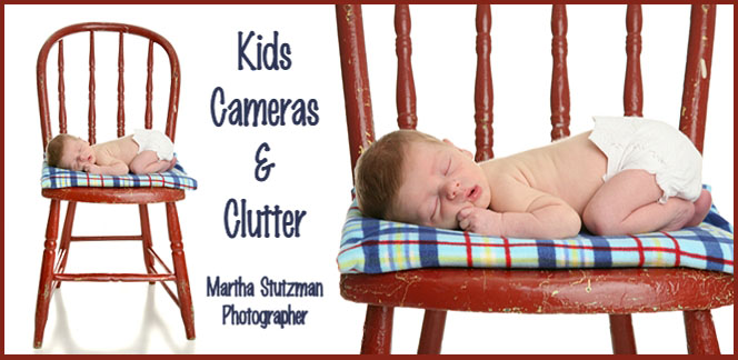 Kids, Cameras and Clutter