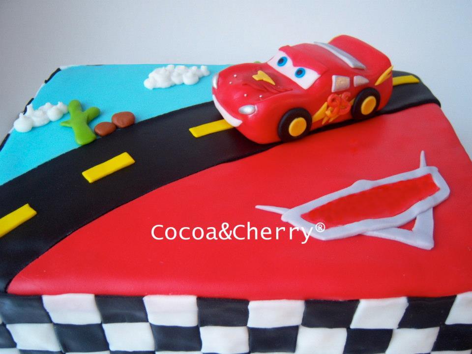 Pasteles De McQueen Cars