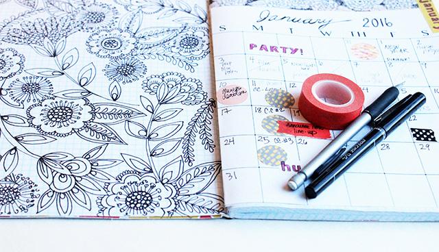 Homemade Calendar Cover : Alisaburke simple homemade planner