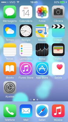 Papel de parede dinâmico do iOS 9