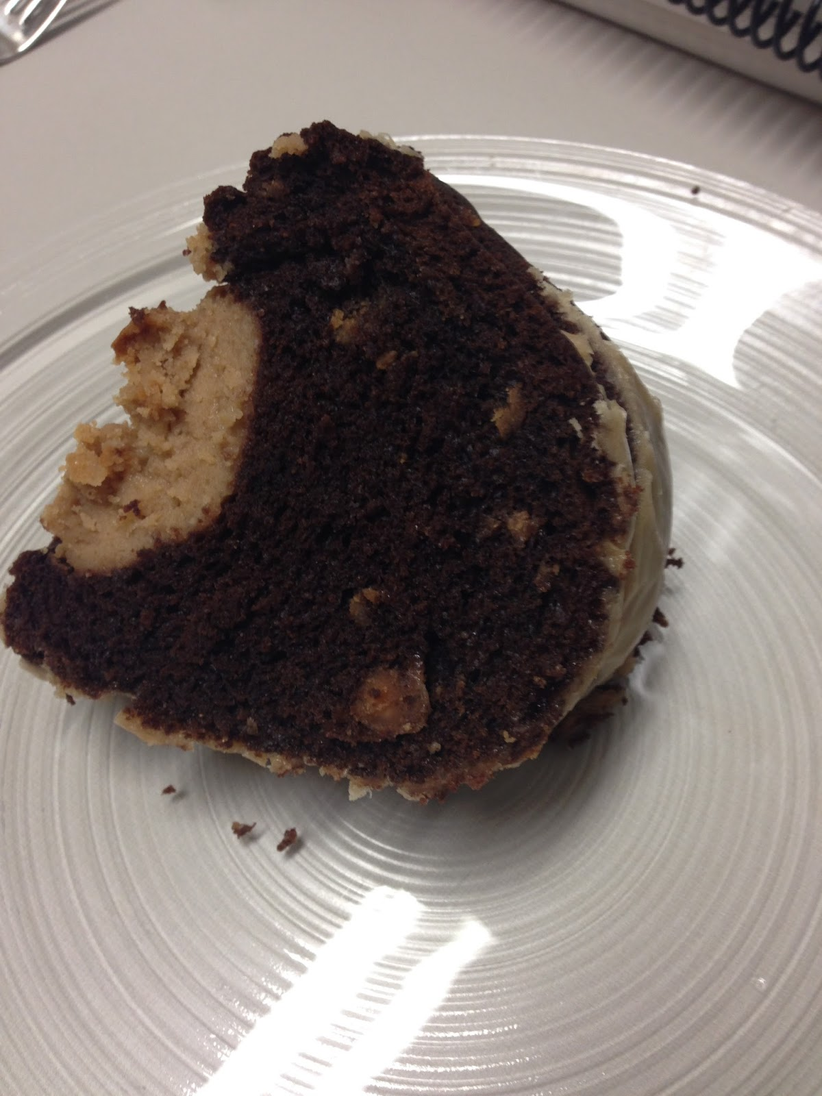 Laura's Culinary Adventures: Chocolate Bundt with Peanut Butter ...