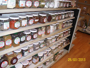 Bulk Organic Spice Section