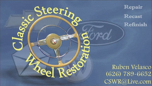 Classic Steering Wheel Restoration