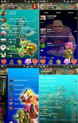 BBM Mod Clash of Clans New Update v2.8 Apk