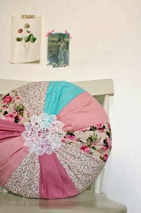 Aprendendo a fazer em casa patchwork de almofadas