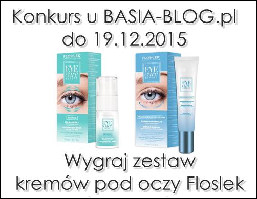 Konkurs - wygraj zestaw kremów pod oczy Floslek Eye Care Expert (do 19.12.2015)