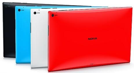 Nokia Lumia 2520 Tablet Quad Core Windows RT Layar 10.1 inch