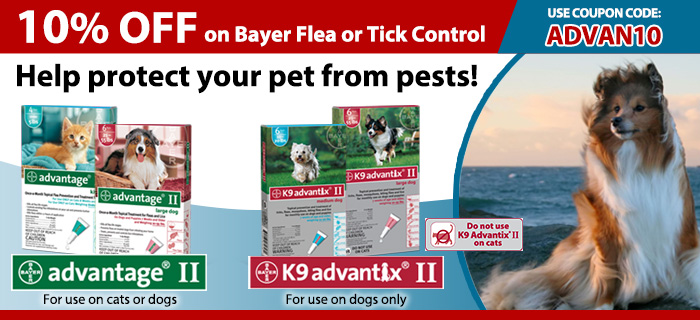 Learn More About Advantage Flea Control Coupons