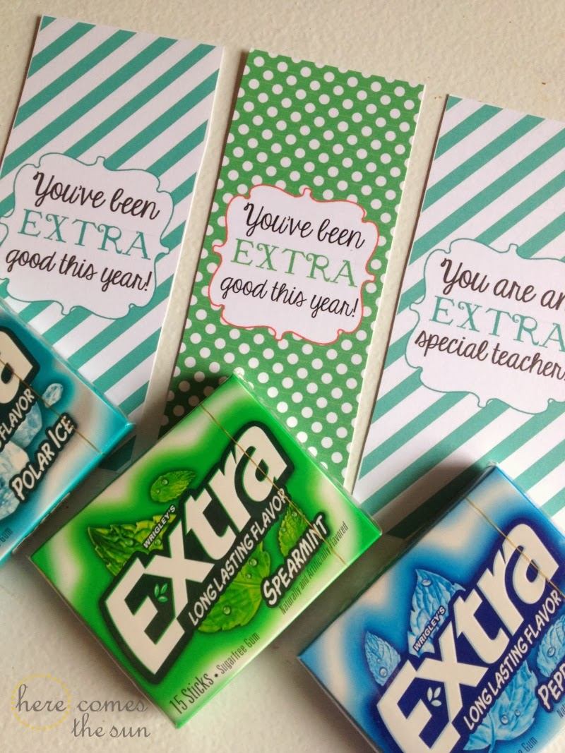 Quot Extra Quot Good Gum Stocking Stuffers Here Comes The Sun