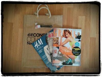 H&M Goodie Bag / Grazia