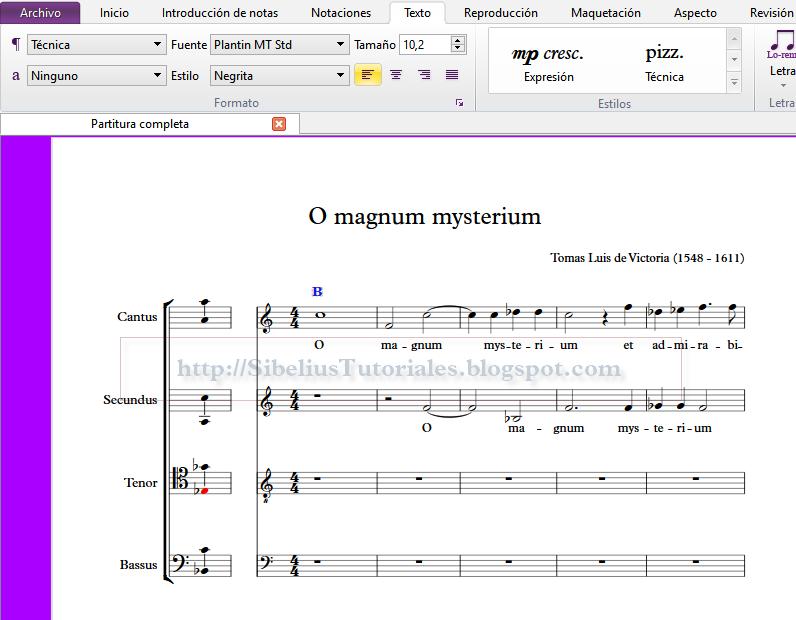 Sibelius 7 First: Superando sus limitaciones III - Símbolos y textos ...