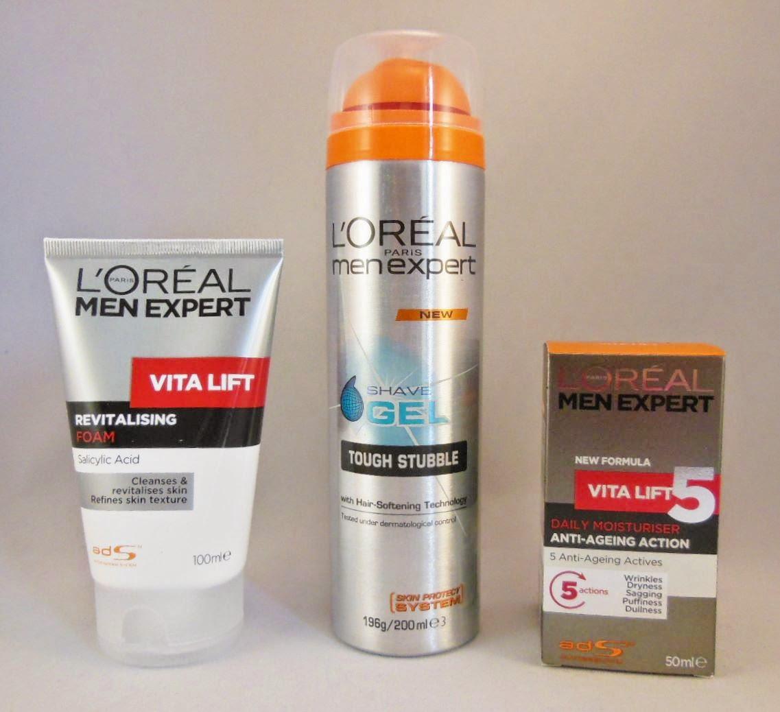 Product Review Loreal Men Expert Vita Lift Gift Set The Beauty White Foam Lifestyle Hunter