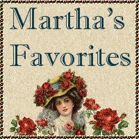 Martha's Favorites