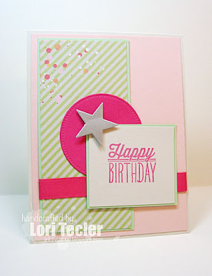 Happy Birthday card-designed by Lori Tecler/Inking Aloud-stamps from Verve Stamps