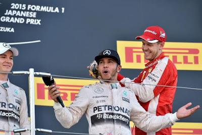 F1 GP Japon 2015 - Hamilton iguala al gran Senna