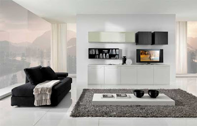 Simple White Apartment Interior Designs