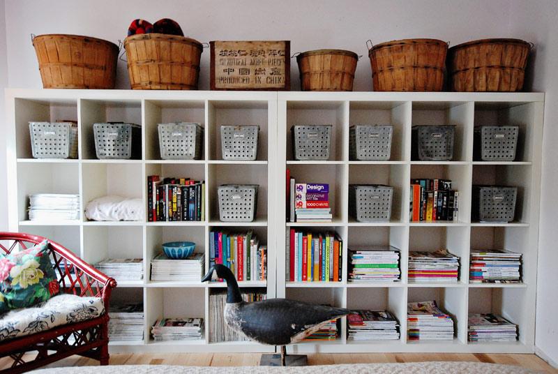 Blog de decora o arquitrecos organiza o de estante - Cestos para kallax ...